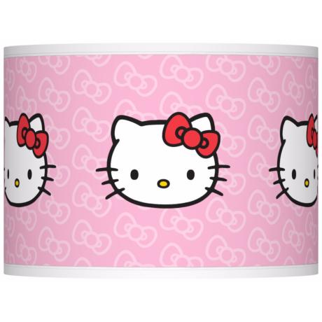 Hello Kitty Classic Giclee Lamp Shade 13.5x13.5x10 (Spider)