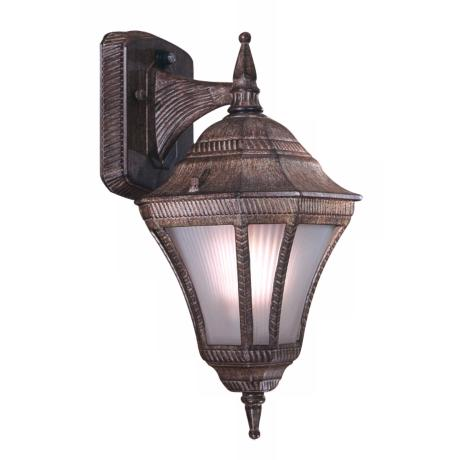 "Segovia 14 1/2"" Vintage Rust Outdoor Light"