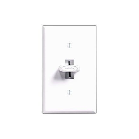 Lutron Glyder 600W Single Pole Incandescent White Dimmer