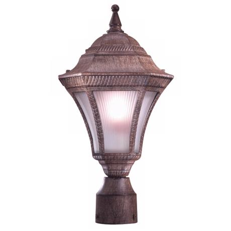 "Segovia Rust 16 1/2"" Outdoor Post Light"