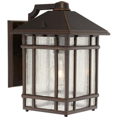 "Jardin du Jour Sierra Craftsman 11"" High Outdoor Wall Light"