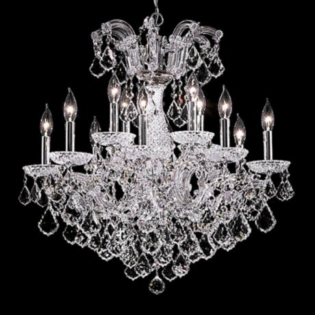 "James R. Moder 26"" Wide Maria Teresa Grand Chandelier"