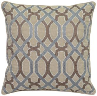 "Lois Harbour and Desert 22"" Square Decorative Pillow (38A97) 38A97"