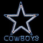 Dallas Cowboys Rope Light