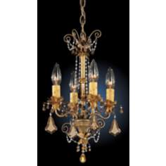 Schonbek Florentine Collection Four Light Mini-Chandelier
