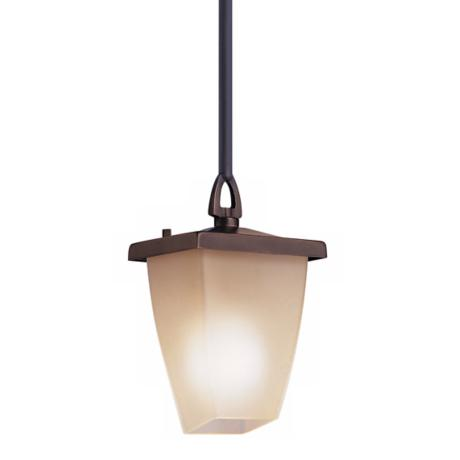 "Kichler Classic Mission 9 1/2"" Outdoor Hanging Light Fixture"