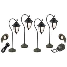 Casa Sorrento™ 8-Piece Bronze Landscape Lighting Set