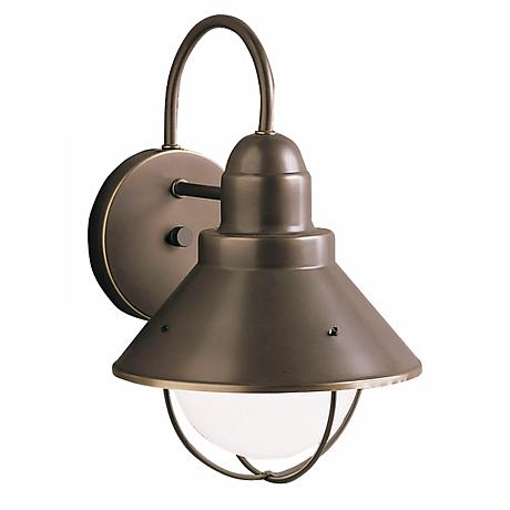 "Kichler Seaside 12"" High Outdoor Wall Light"