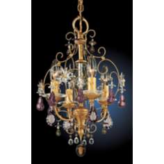 "Schonbek Artifact Collection 9 1/2"" Wide Mini-Chandelier"