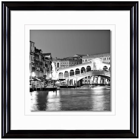 "Grand Canal Italy 20 1/2"" Square Photo Giclee Wall Art"