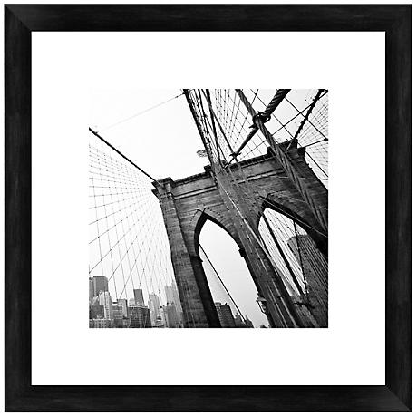 "Brooklyn Bridge 20 1/2"" Square Photo Giclee Wall Art"