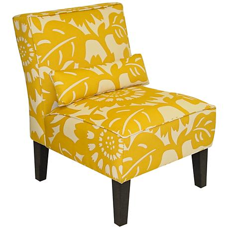 Gerber Sungold Upholstered Armless Accent Chair