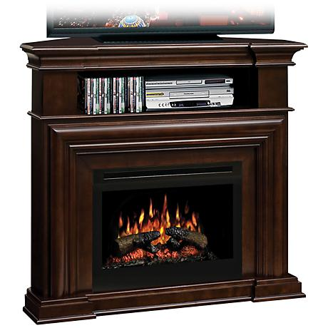 "Montgomery I 36"" Wide Crown Molding Electric Fireplace"