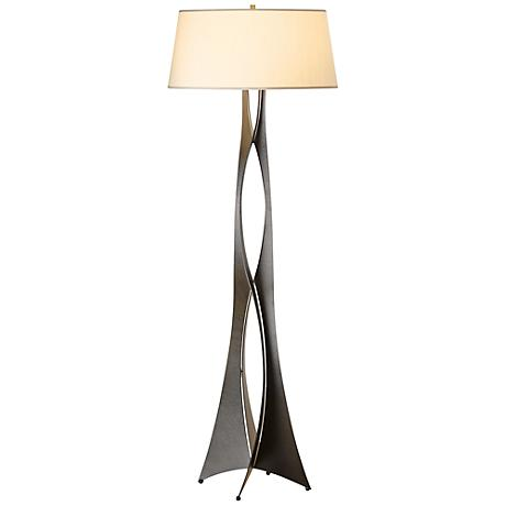 Hubbardton Forge Moreau Steel Contemporary Floor Lamp
