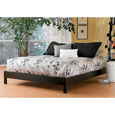 Murray Modern Black Platform Beds