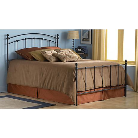 Sanford Matte Black Metal Beds