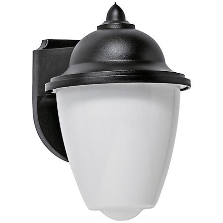 Park Point LED Black Outdoor Wall Lantern