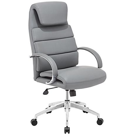 Zuo Lider Comfort Gray Office Chair
