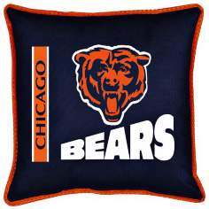 NFL Chicago Bears Sidelines Pillow