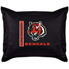 NFL Cincinnati Bengals Locker Room Pillow Sham