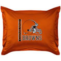 NFL Cleveland Browns Locker Room Pillow Sham