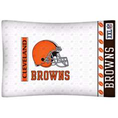 NFL Cleveland Browns Sidelines Pillow Case