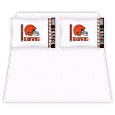 NFL Cleveland Browns Micro Fiber Sheet Set