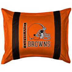 NFL Cleveland Browns Sidelines Pillow Sham