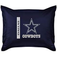 NFL Dallas Cowboys Locker Room Pillow Sham