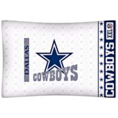 NFL Dallas Cowboys Sidelines Pillow Case