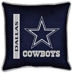 NFL Dallas Cowboys Sidelines Pillow