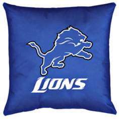 NFL Detroit Lions Locker Room Pillow