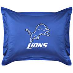 NFL Detroit Lions Locker Room Pillow Sham