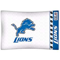 NFL Detroit Lions Sidelines Pillow Case