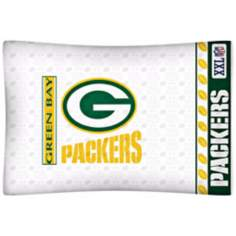 NFL Green Bay Packers Sidelines Pillow Case