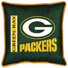 NFL Green Bay Packers Sidelines Pillow