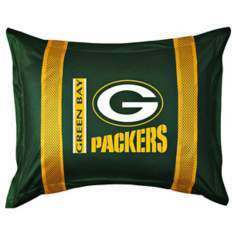NFL Green Bay Packers Sidelines Pillow Sham