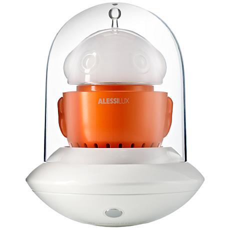 AlessiLux Orange UFO Portable LED Table Light