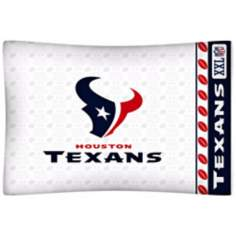 NFL Houston Texans Sidelines Pillow Case