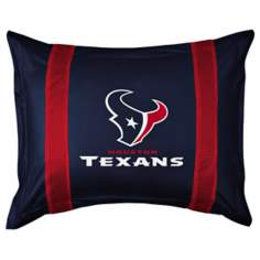 NFL Houston Texans Sidelines Pillow Sham
