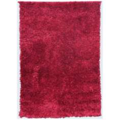 Mambo AMB1306 Watermelon Red Shag Area Rug