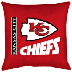 NFL Kansas City Chiefs Locker Room Pillow
