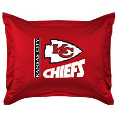 NFL Kansas City Chiefs Locker Room Pillow Sham