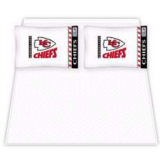 NFL Kansas City Chiefs Micro Fiber Sheet Set