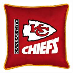 NFL Kansas City Chiefs Sidelines Pillow