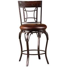 Hillsdale Granada Swivel Bar Stool