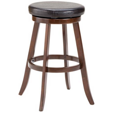 "Hillsdale 26 1/2"" High Sylvan Swivel Counter Stool"