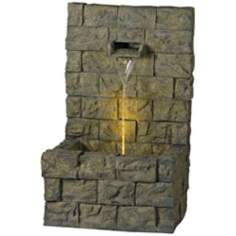 Garden Wall Indoor Outdoor Fountain by Kenroy Home