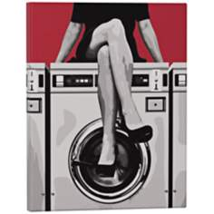 "Robert Abbey Laundry 14"" High Pop Wall Art"