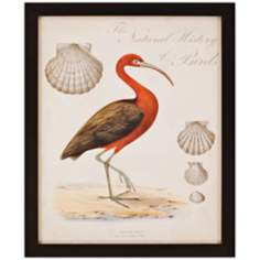 "Heron Anthology II 33"" High Framed Wall Art"